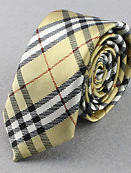 SKTEJOAN® Men's Korean Plaid Fashion Narrow Ties(Wide:5CM)
