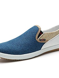 cheap -Men's Shoes Round Toe Flat Heel Loafers Canvas  with Slip-on Shoes More Colors available