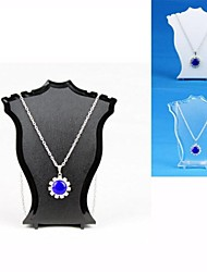 cheap -Resin Jewelry Displays(Black,White,Transparent)(1pC)