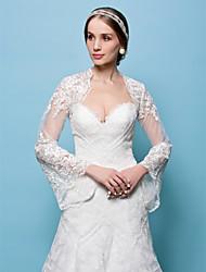 abordables -Dentelle Mariage Soirée Wraps de mariage Boleros