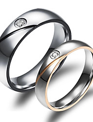 cheap -Women's Couple Rings Gold Plated 18K Gold Fashion Wedding Party Daily Casual Sports Costume Jewelry