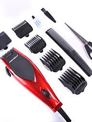 Недорогие -pritech бренд электрическая машинка для стрижки волос профессиональные машинки для стрижки волос 220v110 напряжение использовании средств