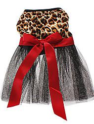 Chat Chien Robe Vêtements pour Chien Mariage Animal Marron Costume Pour les animaux domestiques