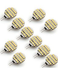 cheap -10pcs 3W 300-400 lm G4 LED Bi-pin Lights 24 leds SMD 3528 Warm White Cold White AC 12V