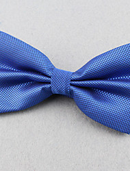 cheap -Unisex Polyester Bow Tie,Party Work Casual Solid All Seasons Blue