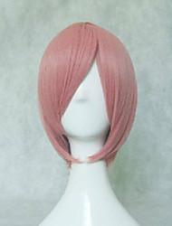 Kvinder Syntetiske parykker Glat Sort Sølv Rød Blå Lys pink Cosplay Paryk kostume Parykker