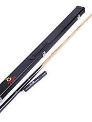 cheap -3/4 Jointed  Handmade ash snooker/Pool Cue O'min brand  billiard cue+Cue Case