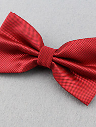 cheap -Unisex Polyester Bow Tie,Vintage Cute Party Work Casual Solid All Seasons Red