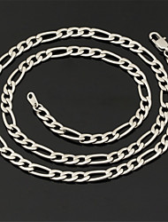 cheap -Women's Stainless Steel Chain Necklace - Fashion Necklace For Wedding Party Daily Casual