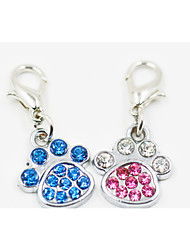 Gatti / Cani Accessori per acconciature Blu / Rosa Abbigliamento per cani Primavera/Autunno Matrimonio