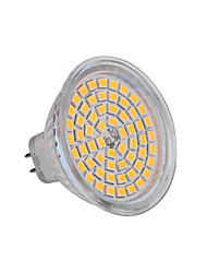 5W GU5.3(MR16) LED Spotlight MR16 60 SMD 2835 350-400 lm Warm White Cold White 2800-3200/6000-6500 K DC 12 V