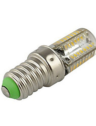cheap -2.5W E14 LED Corn Lights T 64 SMD 3014 200-250 lm Warm White Cold White 2800-3500/6000-6500 K AC 220-240 V