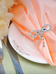 Недорогие -Установка свадебный стол --- алмаз лук салфетки пряжки