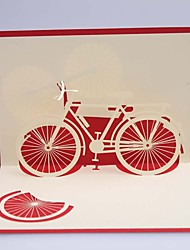 cheap -Stereoscopic Business Cards ---Happy Bike(1piece)