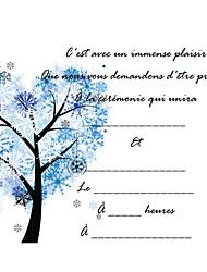 Недорогие -Плоские Свадебные приглашения Пригласительные билеты Имя, надпись на заказ