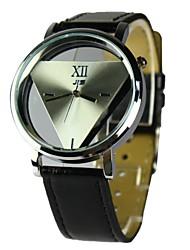 Недорогие -Мужская одежда часы кварцевые аналоговые полый гравировка (разных цветов)