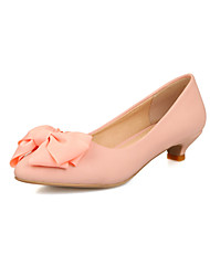 cheap -Women's Shoes Low Heel Pointed Toe Pumps with Bowknot Shoes Dress More Colors available