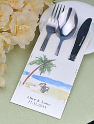 baratos -jogos de serviço do bolo de casamento de faca fontes personalizadas sacos conjunto de 10 ---- ver o mar