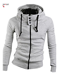 MANWAN WALK®Men's High Collar Slim Hoodie