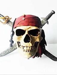 Недорогие -пиратский череп головы террориста игрушка