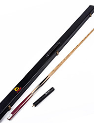 cheap -1 Piece  Handmade ash snooker/Pool Cue O'min brand  billiard cue+Cue Case