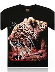 economico -MEN - T-shirt - Informale Rotondo - Maniche corte Cotone/Cotone organicp
