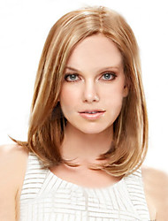 cheap -Synthetic Wig Straight Bob Haircut Synthetic Hair 9 inch Natural Hairline Brown Wig Women's Short Capless Light Blonde
