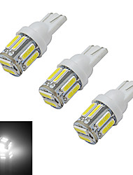 abordables -210 lm T10 Lampe de Décoration 10 diodes électroluminescentes SMD 7020 Blanc Froid DC 12V