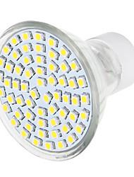 GU10 Faretti LED 1 leds SMD 3528 Bianco caldo Bianco 570lm 3000/6000K AC 220-240V