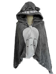 Kigurumi Pyjamas Kat Totoro Kostume Koralfleece Kigurumi Trikot / Heldragtskostumer Cosplay Festival / Højtider Nattøj Med Dyr Halloween