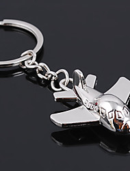 cheap -Unisex Alloy Casual Keychain Fashion Mini Plane Key Chains