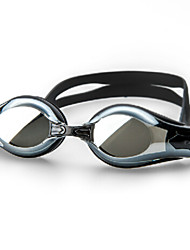 winmax® uomini lenti pc galvanica nera 350 gradi miope / miopia occhiali da nuoto