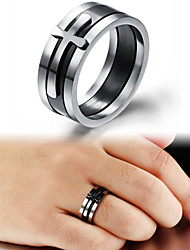 cheap -Women's Band Ring - Titanium Steel Fashion 7 / 8 / 9 For Wedding / Party / Daily