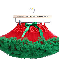 Shall We Performance Tutus Women Performance/Training Cotton Fuchsia/Green Kids Dance Costumes