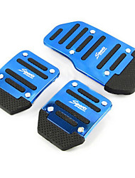 cheap -Aluminum Skid Car Accelerator Pedal Brake Pedal Pedals Suitable For Manual Car (Assorted Colors)