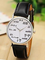Опасности женская кожаная полоса аналогового кварцевого случайные часы (разных цветов)
