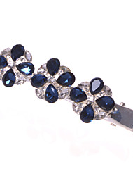 cheap -Women/Flower Girl Alloy Barrette With Sapphire/Rhinestone Wedding/Party Headpiece