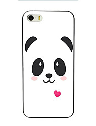 Lovely Panda Design PC Hard Case for iPhone 7 7 Plus 6s 6 Plus SE 5s 5 4s 4