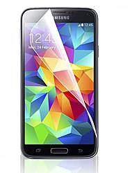 preiswerte -Displayschutzfolie für Samsung Galaxy S5 PET Vorderer Bildschirmschutz High Definition (HD)