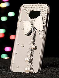 preiswerte -Hülle Für Samsung Galaxy Samsung Galaxy Hülle Strass Rückseite 3D Zeichentrick PC für S7 edge / S7 / S6 edge plus