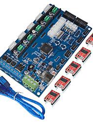"""Недорогие -""""Кейс 3D-принтер платы управления MKS поколения v1.2, USB линии (водитель drv8825)"""""""
