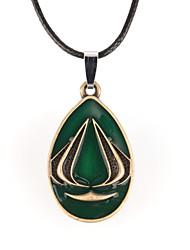 Недорогие -Муж. форма Ожерелья с подвесками Кожа Сплав Ожерелья с подвесками Повседневные