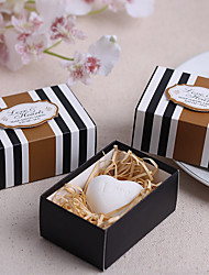 Wedding Anniversary 100% all-natural ingredients Bath & Soaps 8*5.5*3.5cm Diameter:3.2cm