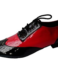 Men's Latin Ballroom Performance Dance Shoes Customizable
