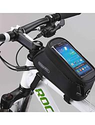 abordables -Bolsa para Cuadro de Bici Bolso del teléfono celular 5.5 pulgada Multifuncional Pantalla táctil Ciclismo para Samsung Galaxy S6 LG G3