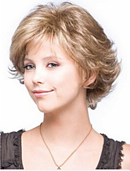 cheap -New arrival Wig Sexy Short Layered Blonde Synthetic Hair Wig for Women