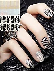 2 Neglekunst Klistermærke 3D Negle Stickere Abstrakt Bryllup Makeup Kosmetik Neglekunst Design