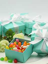 Tiffany Blue Giftbox Design Favor Box (set of 12)