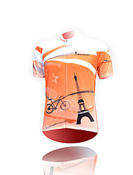 economico -Maglia da ciclismo Unisex Maniche corte Bicicletta Maglietta/Maglia TopAsciugatura rapida Resistente ai raggi UV Permeabile all'umidità