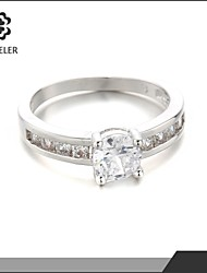 cheap -Statement Rings Fashion Cubic Zirconia Platinum Plated Imitation Diamond Jewelry For Wedding Party 1pc